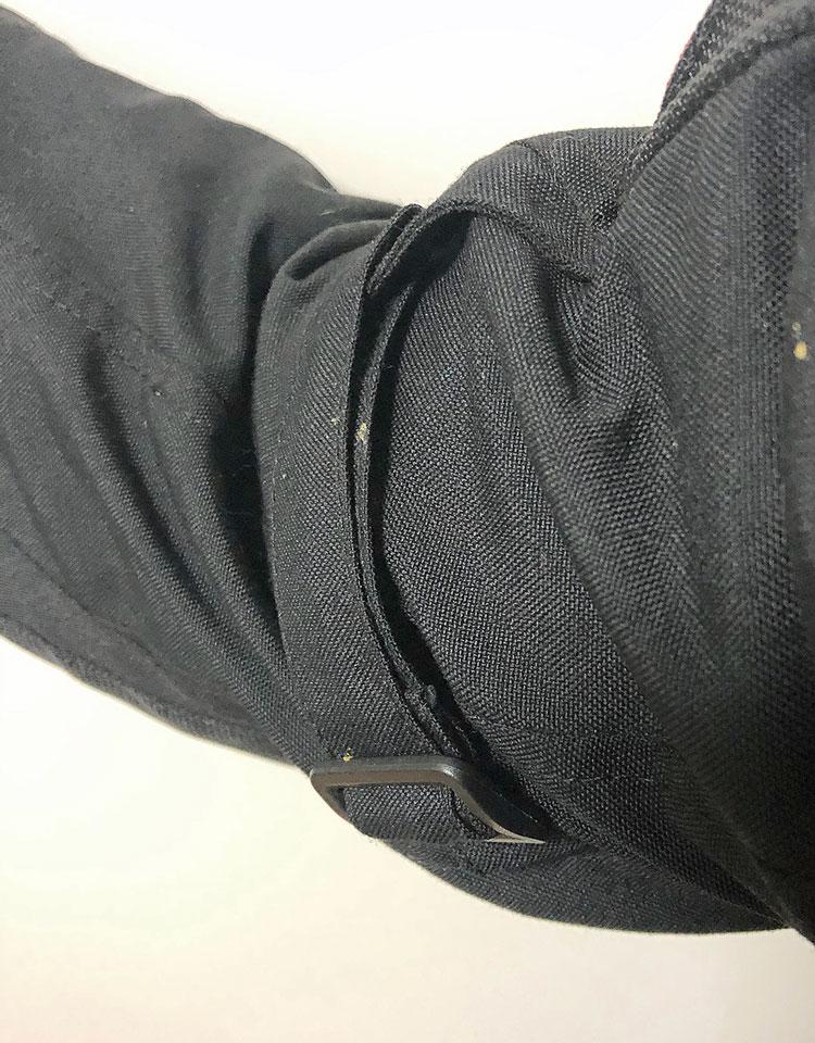 Oberarm-Verstellung, Blackwild Nr.1 Textilkombi