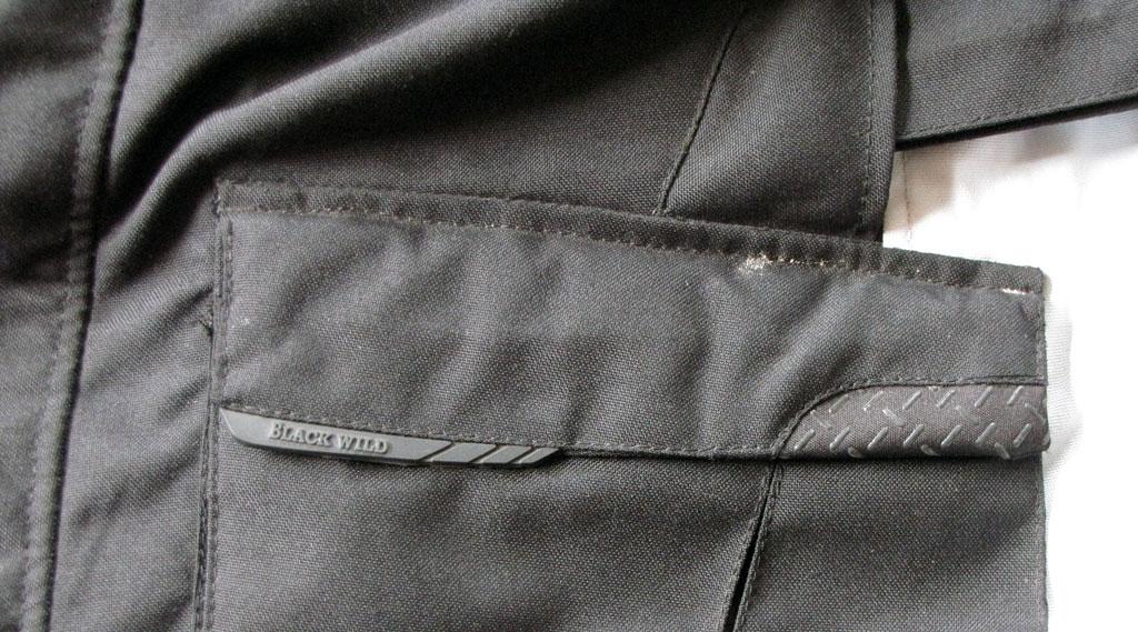 Taschen-Besatz, Blackwild Nr.1 Textilkombi