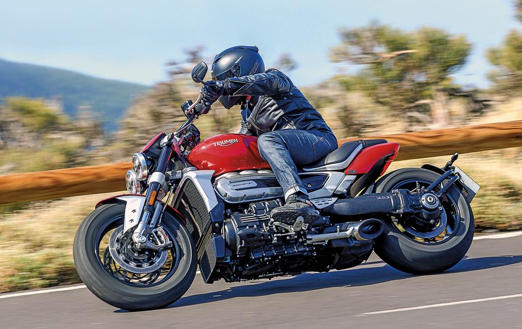 Fahrbericht Triumph Rocket 3 R / GT Modell 2020