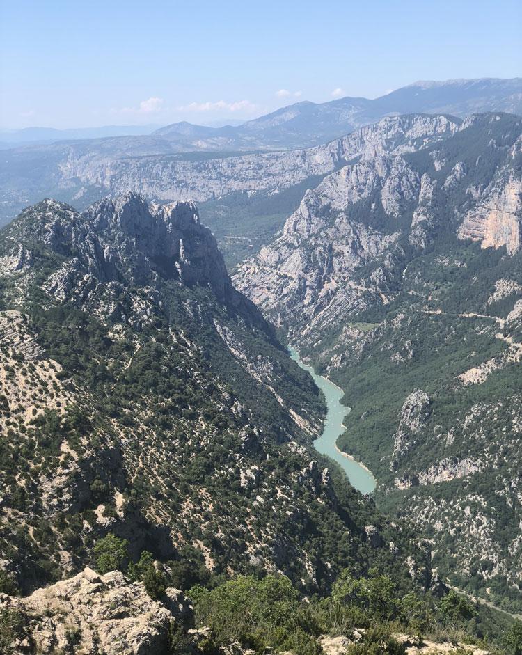 Georges du Verdon - Motorrad-Urlaub in der Provence
