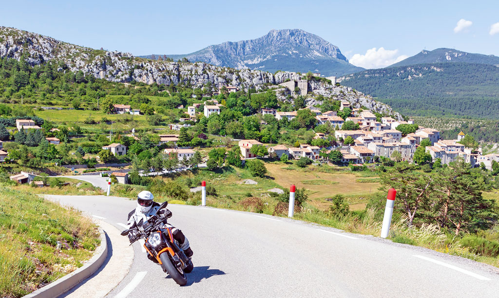 Kurvenparadies - Motorrad-Urlaub in der Provence