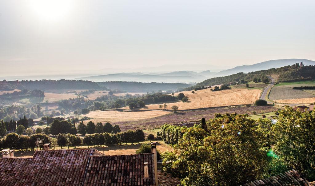 Der Tag beginnt - Motorrad-Urlaub in der Provence