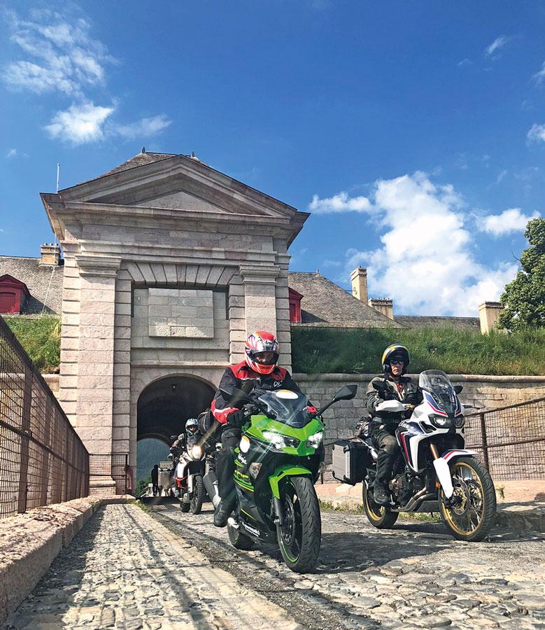Festung Mont Dauphin - Motorrad-Urlaub in der Provence