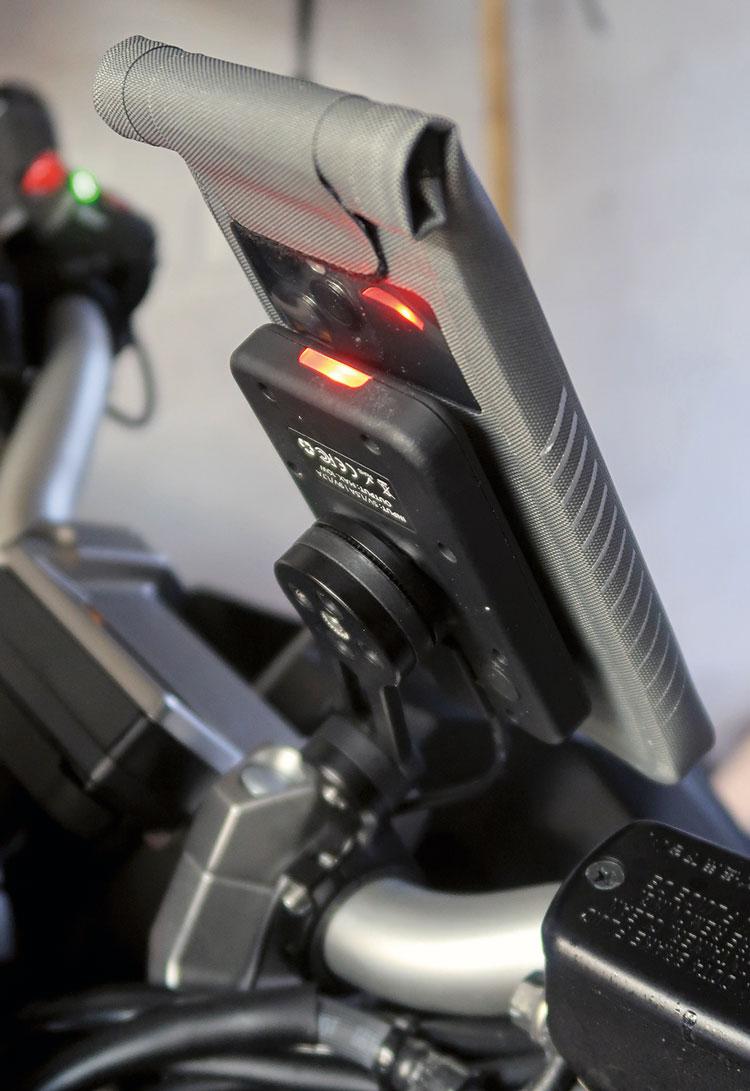 SP Connect Universaltasche funktioniert nicht mit QI-Lader