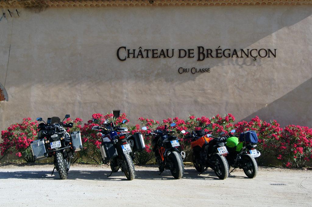 Weingut-Besichtigung - Motorrad-Urlaub in der Provence