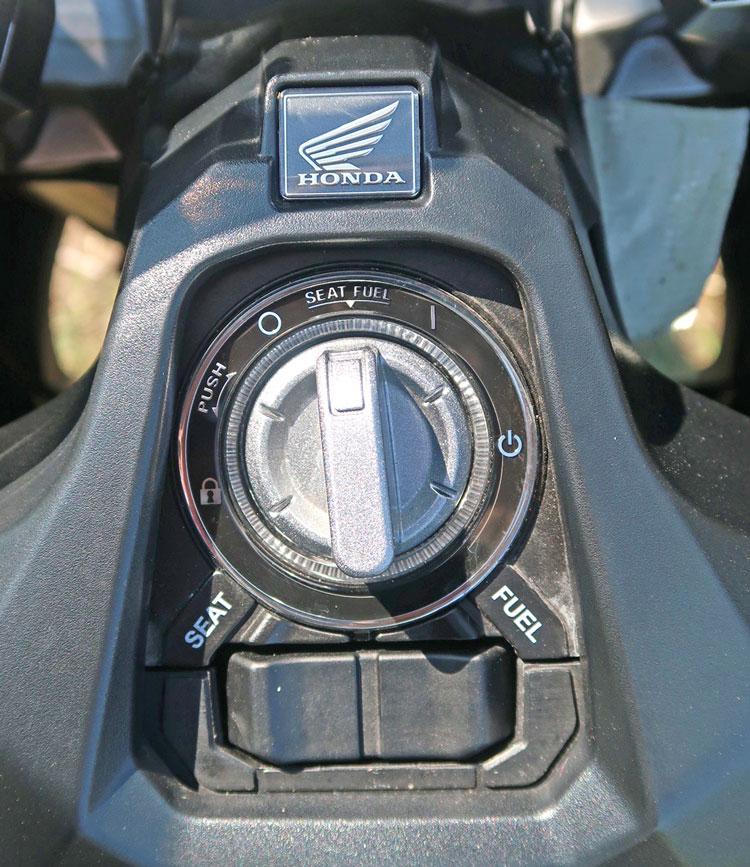 "Schlüssellos dank ""Smart Key"" - Honda X-ADV 750, Modell 2018"