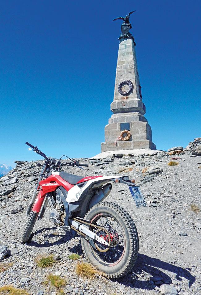Montesa 4Ride: Trial-Wandern in den Alpen