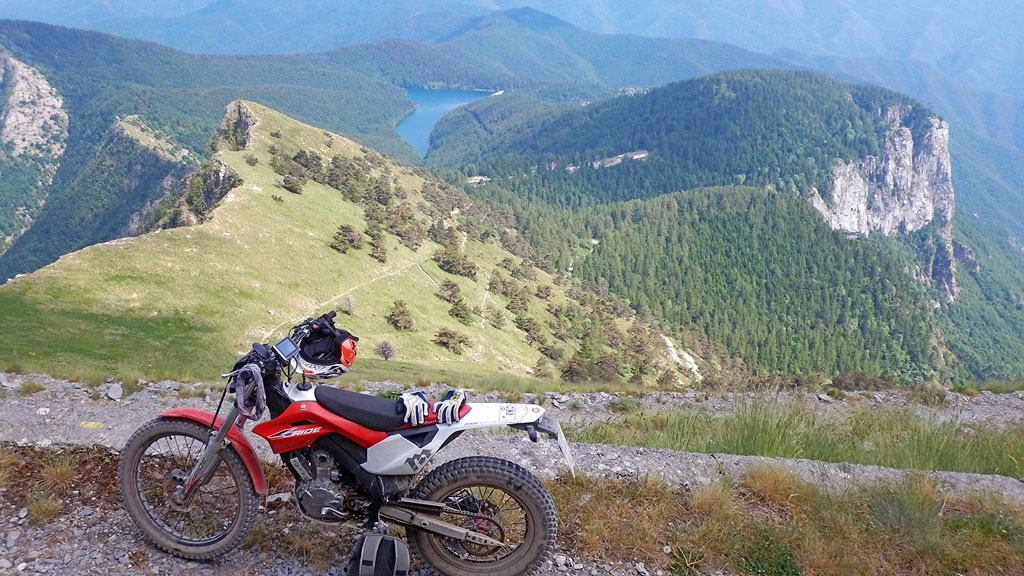 Trial-Wandern mit Montesa 4Ride und 4RT