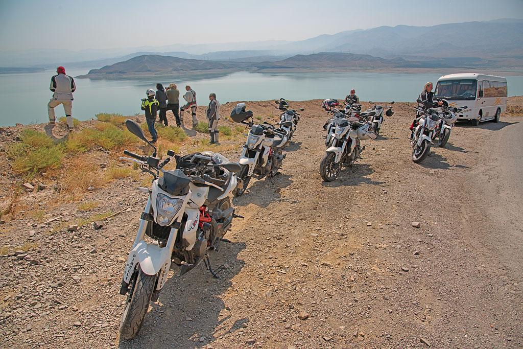 Geführte Motorradtour Iran - Fahrt von Zanjan nach Qazvin
