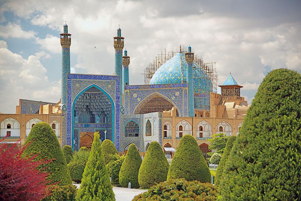 Geführte Motorradtour Iran - Die Freitagsmoschee von Isfahan