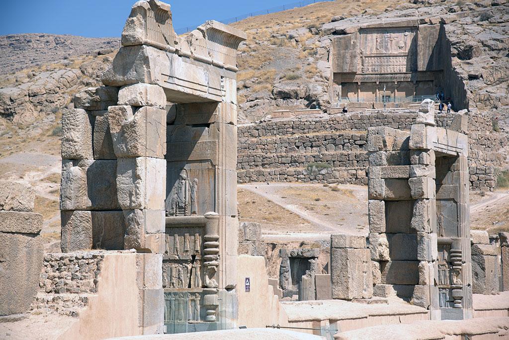 """Geführte Motorradtour Iran - Persepolis, """"Stadt der Perser"""" gegründet 520 v. Chr."""