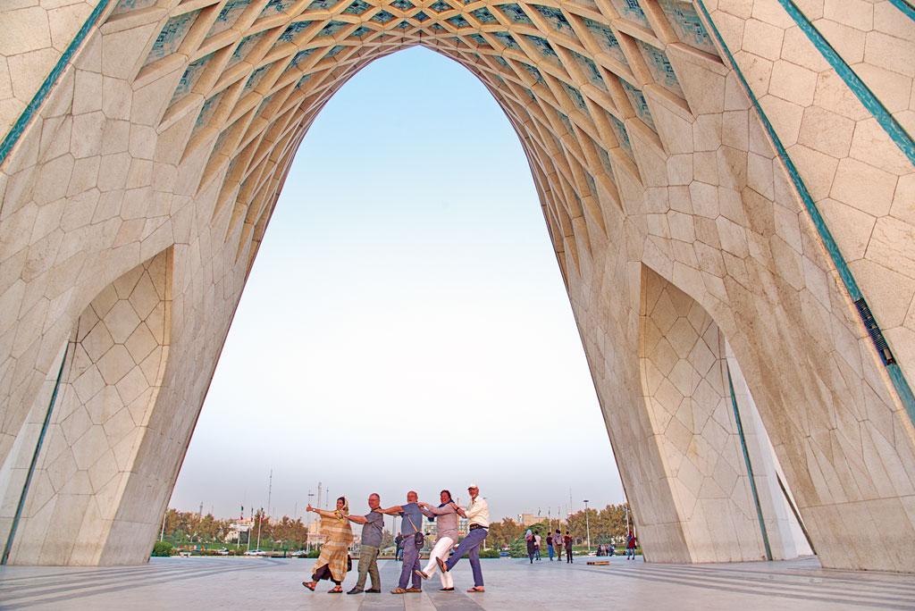 Geführte Motorradtour Iran - Besuch in Teheran