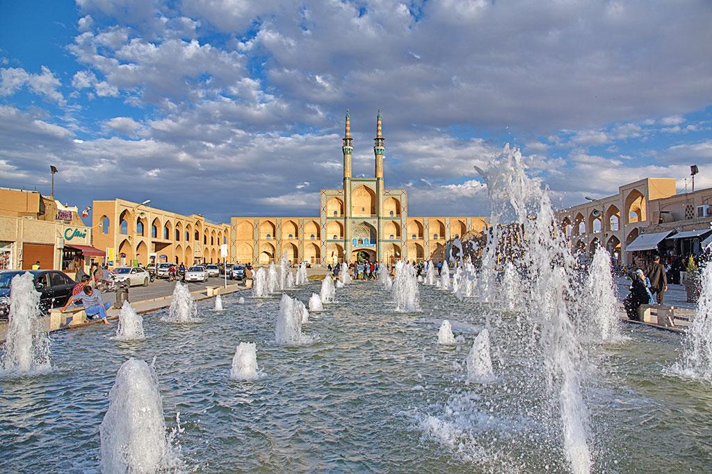 Yazd, eine der ältesten Städte Irans