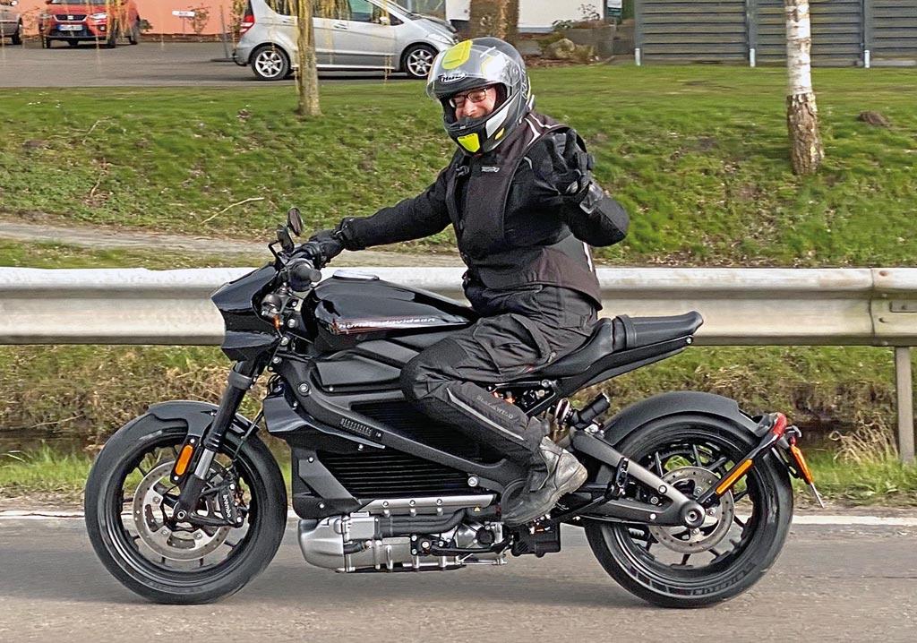 Tolles Elektromotorrad: Harley LiveWire