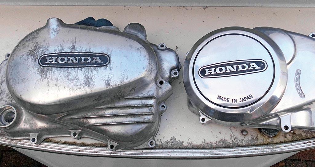Die Arbeit lohnt sich - Honda CB 400 T, Bj. 1978