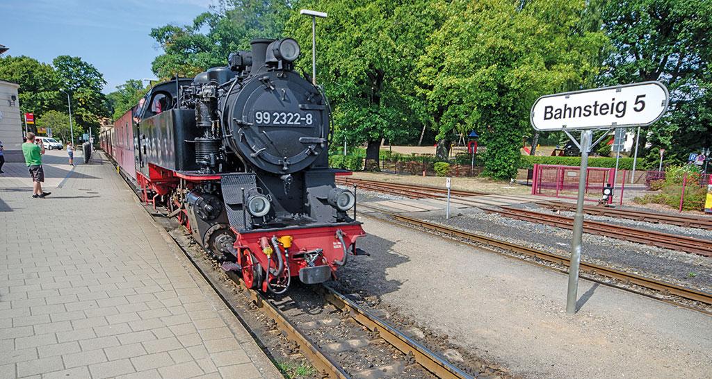 Molli in Bad Doberan - Motorradtour Mecklenburg-Vorpommern