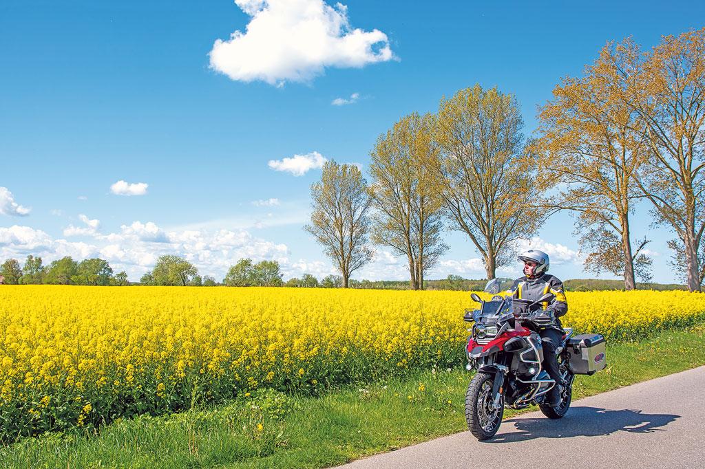 Motorradtour Mecklenburg-Vorpommern
