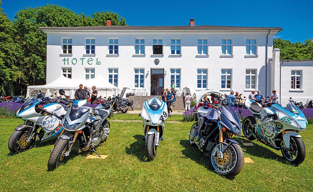 Ostsee Gutshaus mit Münch-Treffen