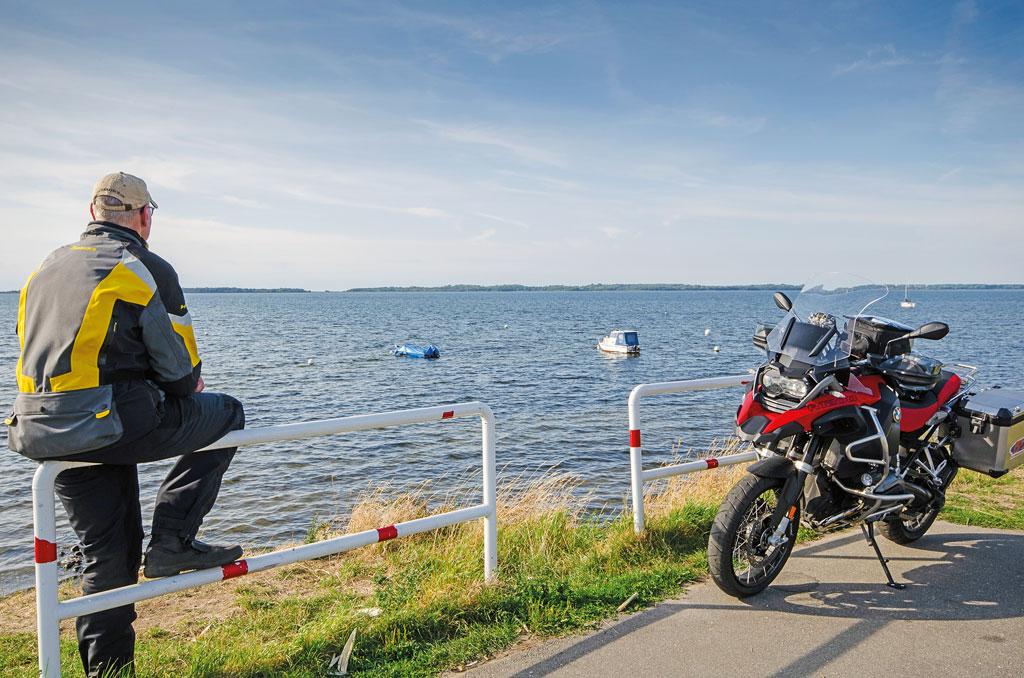 Am Salzhaff - Motorradtour Mecklenburg-Vorpommern