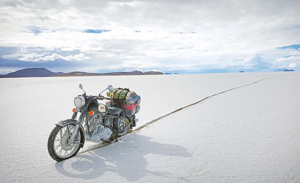 Unterwegs in der Salar de Uyuni in Bolivien