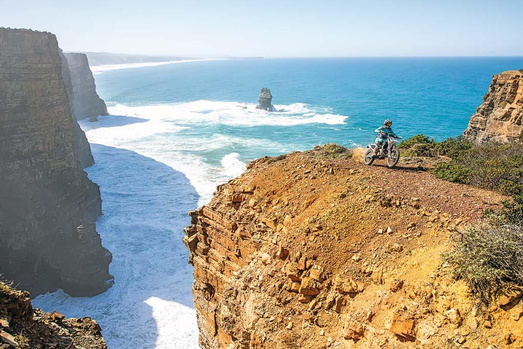 Auch Offroad-Action bietet Ride Portugal