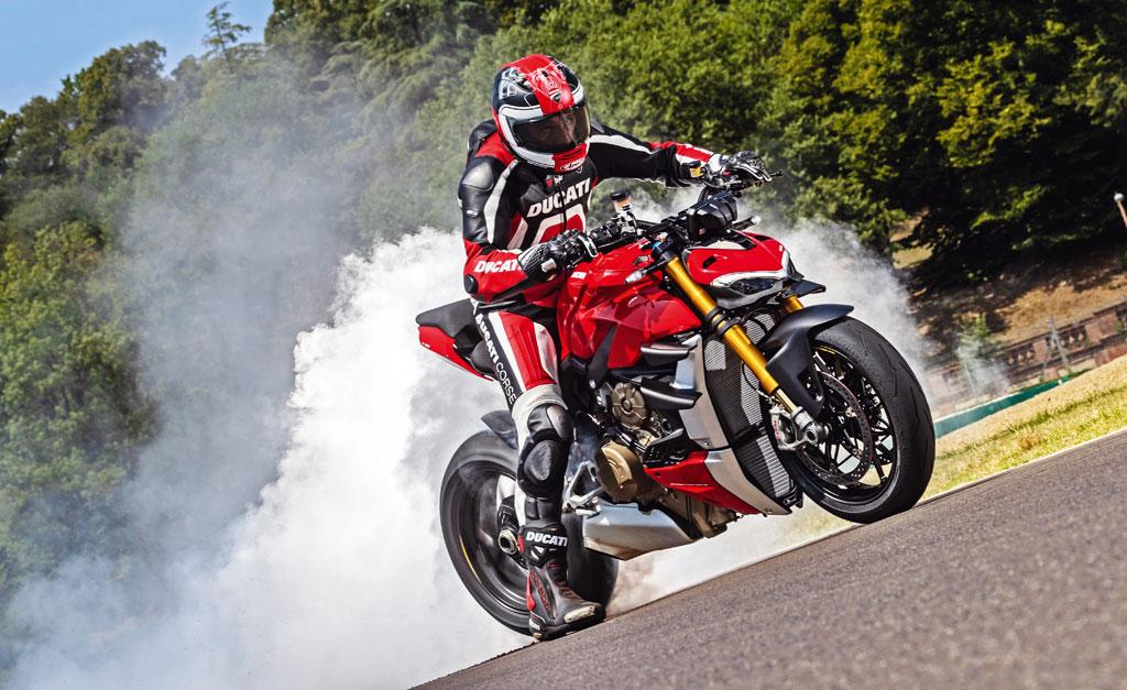 Burnout - Ducati Streetfighter V4 S - Modell 2020