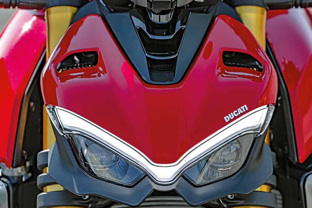 LED-Tagfahrlicht der Ducati Streetfighter V4 S - Modell 2020
