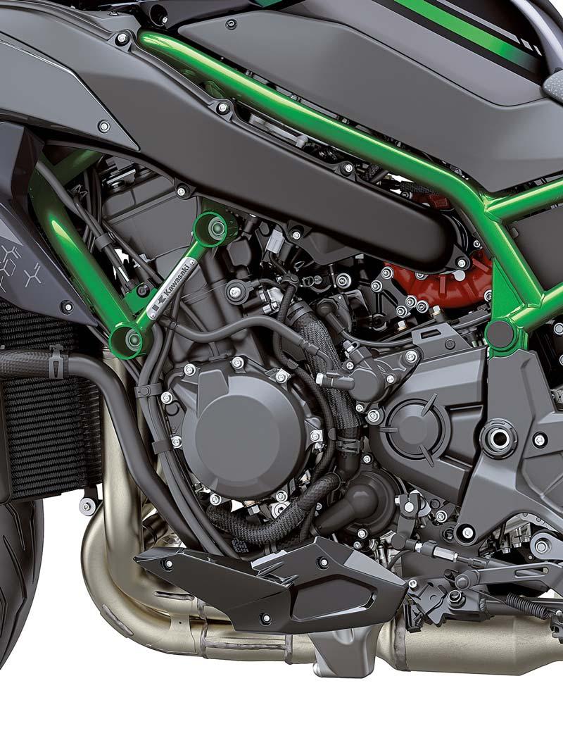 Der Kompressor - Kawasaki Z H2, Modell 2020