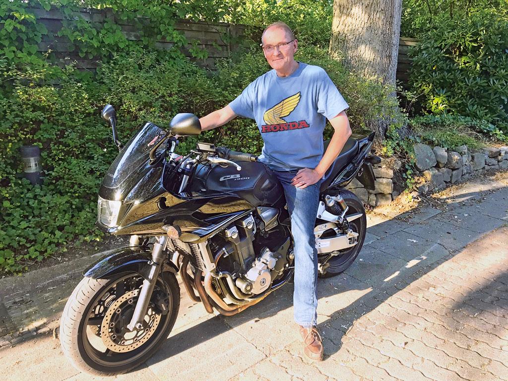 Komfortabel: Honda CB 1300