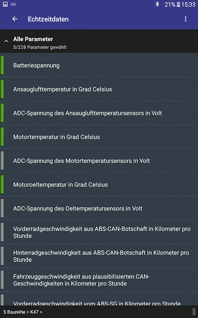 Moto Scan App für BMW