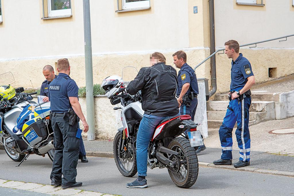 Polizeikontrolle - Ihre Papiere bitte …