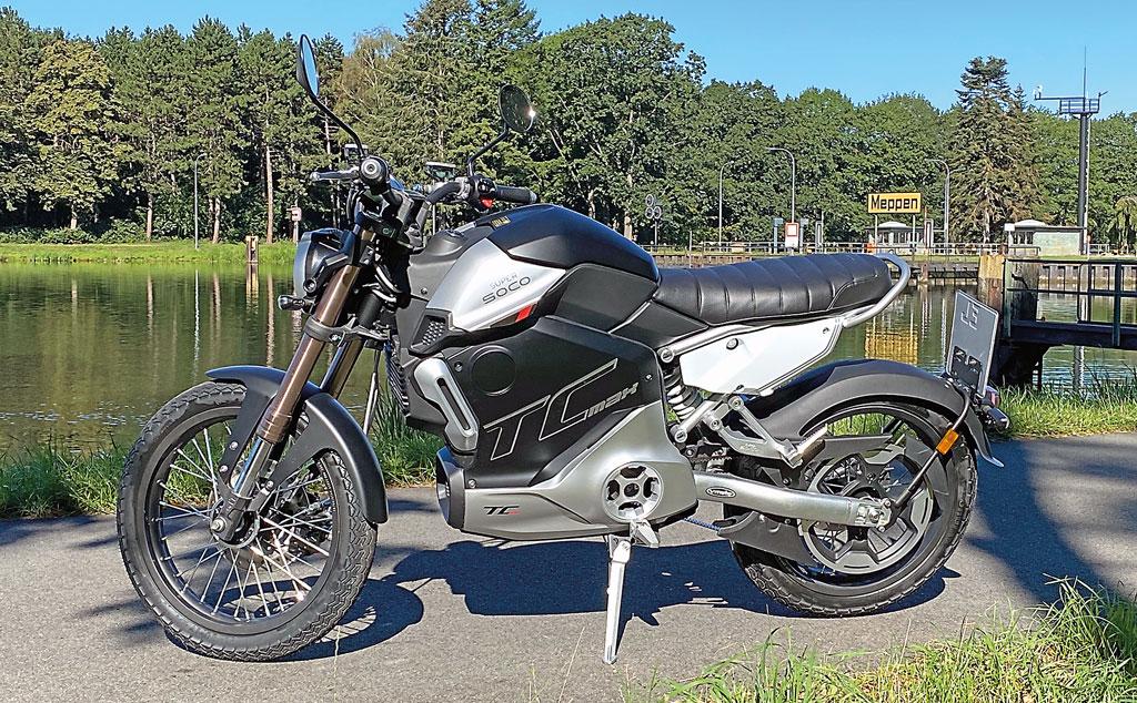 Super Soco TC Max - Modell 2020