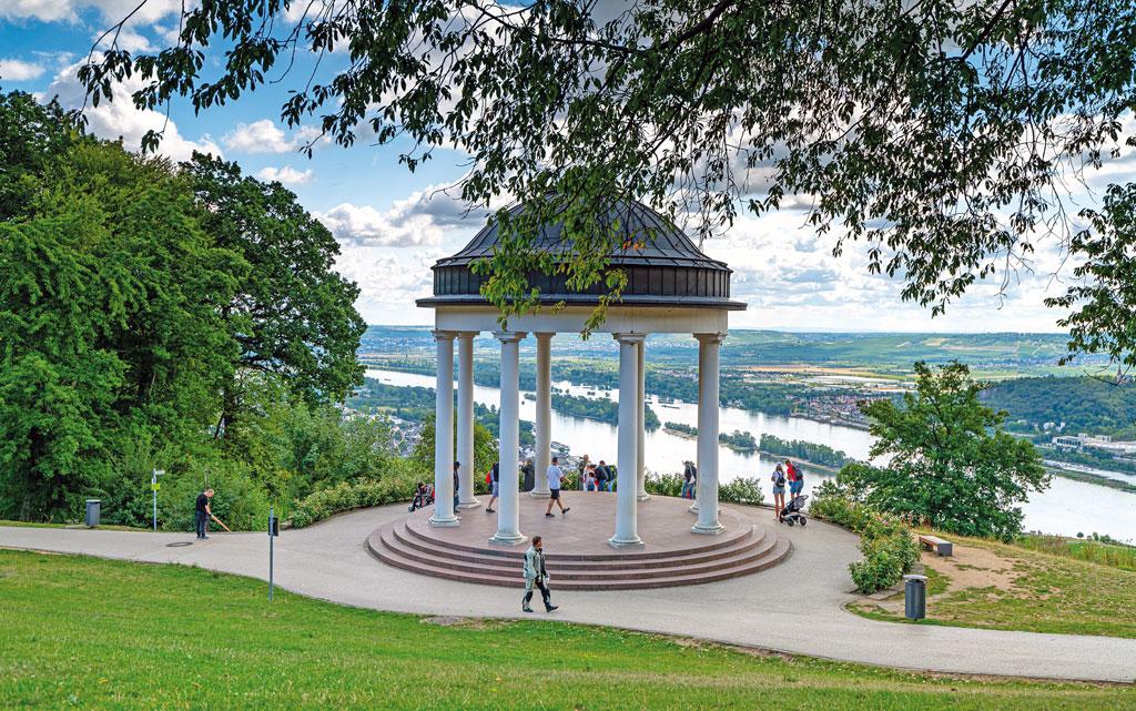 Der Pavillion am Niederwalddenkmal