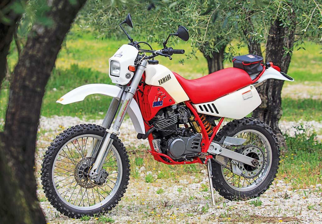 Restaurierte Yamaha TT 350 - immer noch purer Fahrspaß