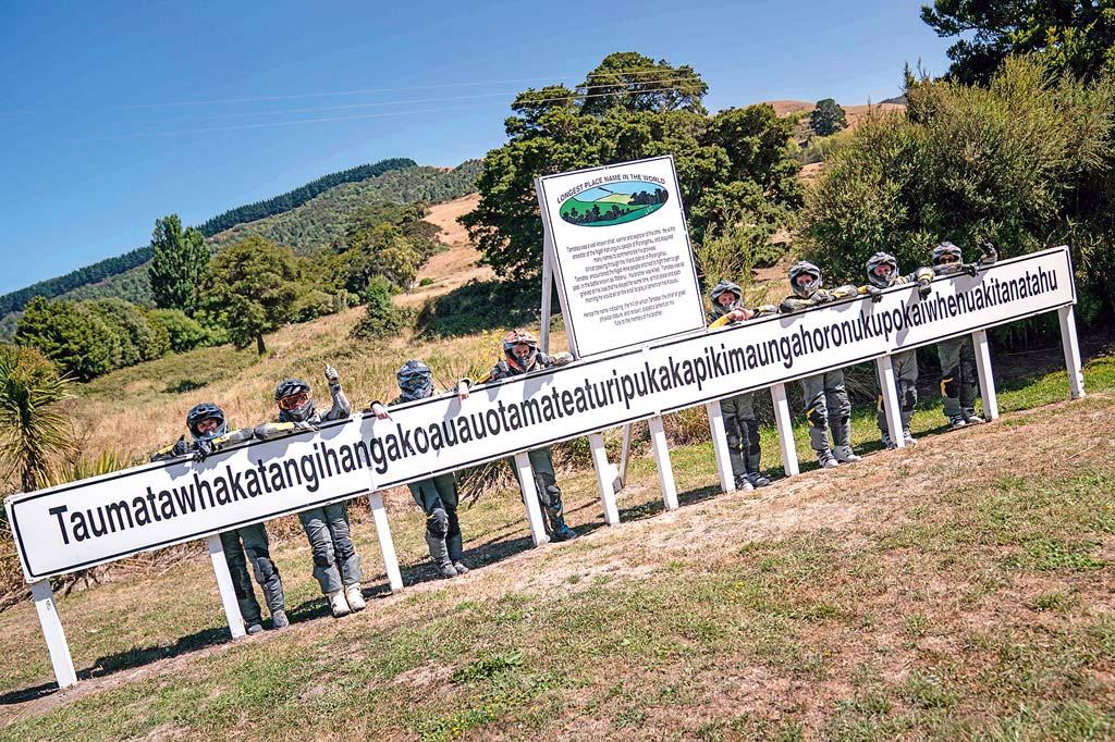 So lautet der Maori-Name eines Hügels …