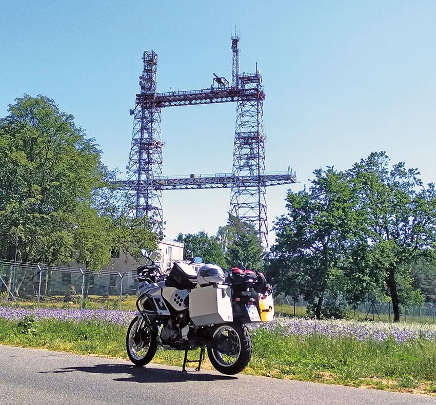 Halt am Torii Tower