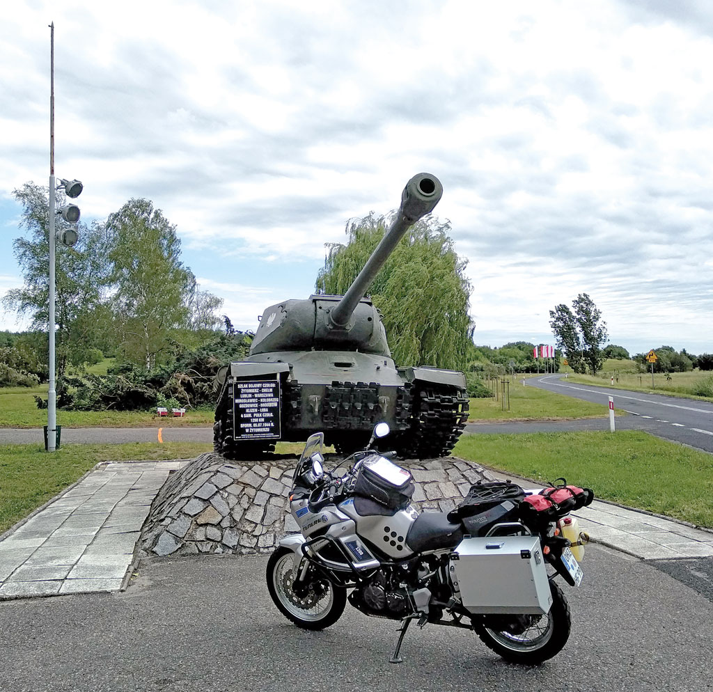 Motorradtour zwischen Elbe und Oder