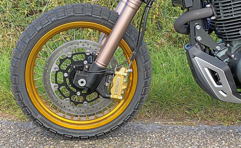 Bremsanlage vorne - Mash X-Ride 650 Modell 2020