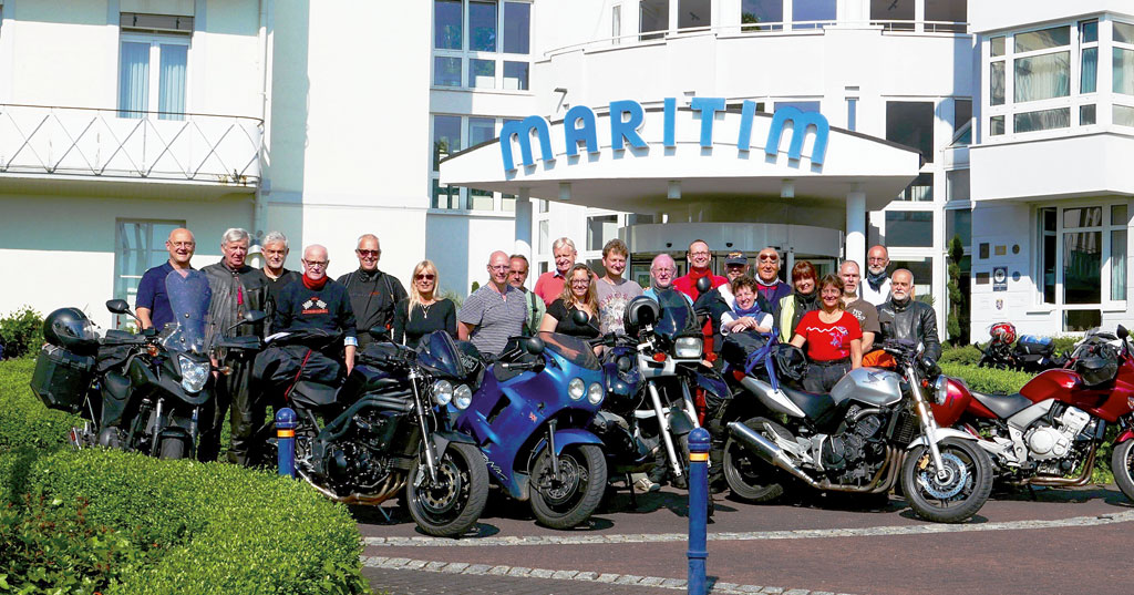 Maritim Hotel Bad Wildungen - Curva-Biketravel - Kradblatt-Leserreise