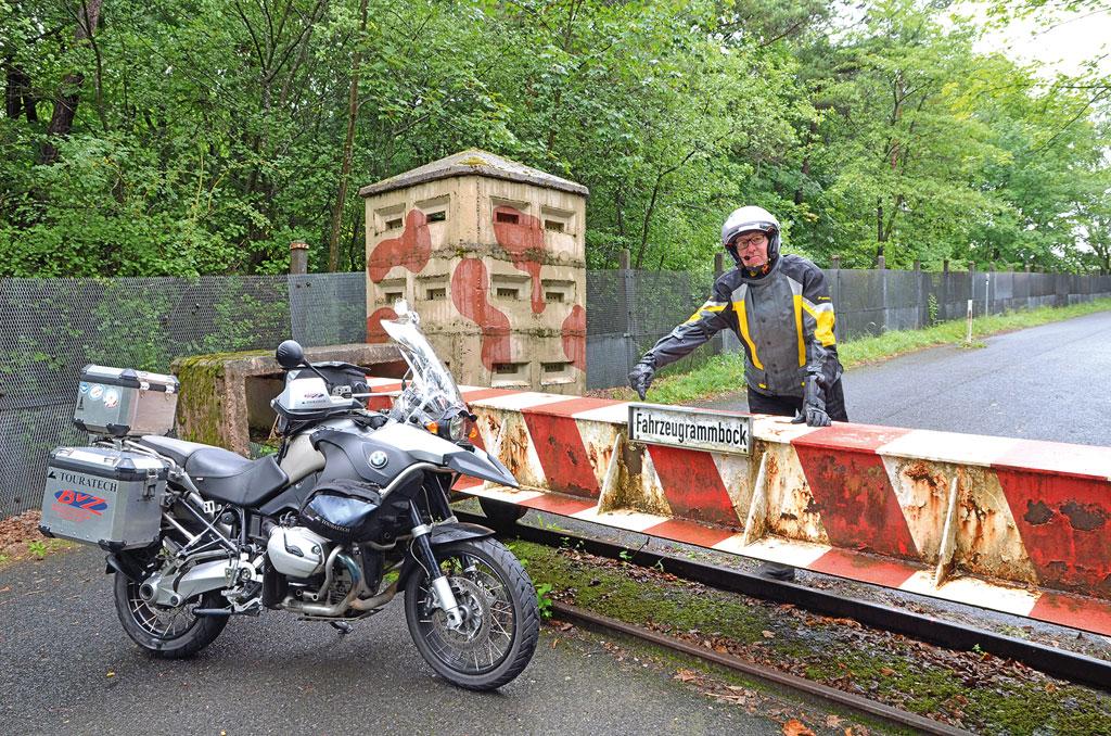 DDR-Grenzübergang bei Eußenhausen