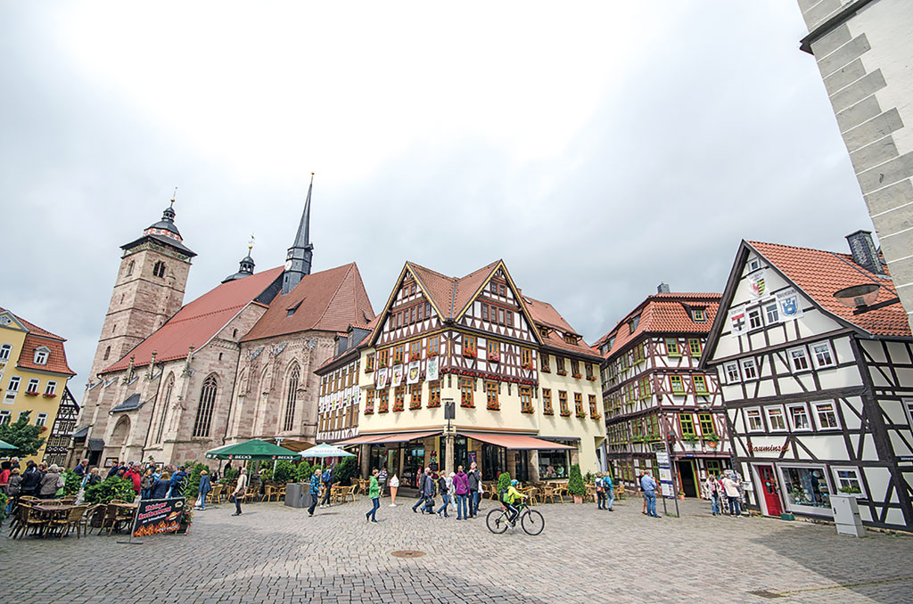 Marktplatz in Schmalkalden