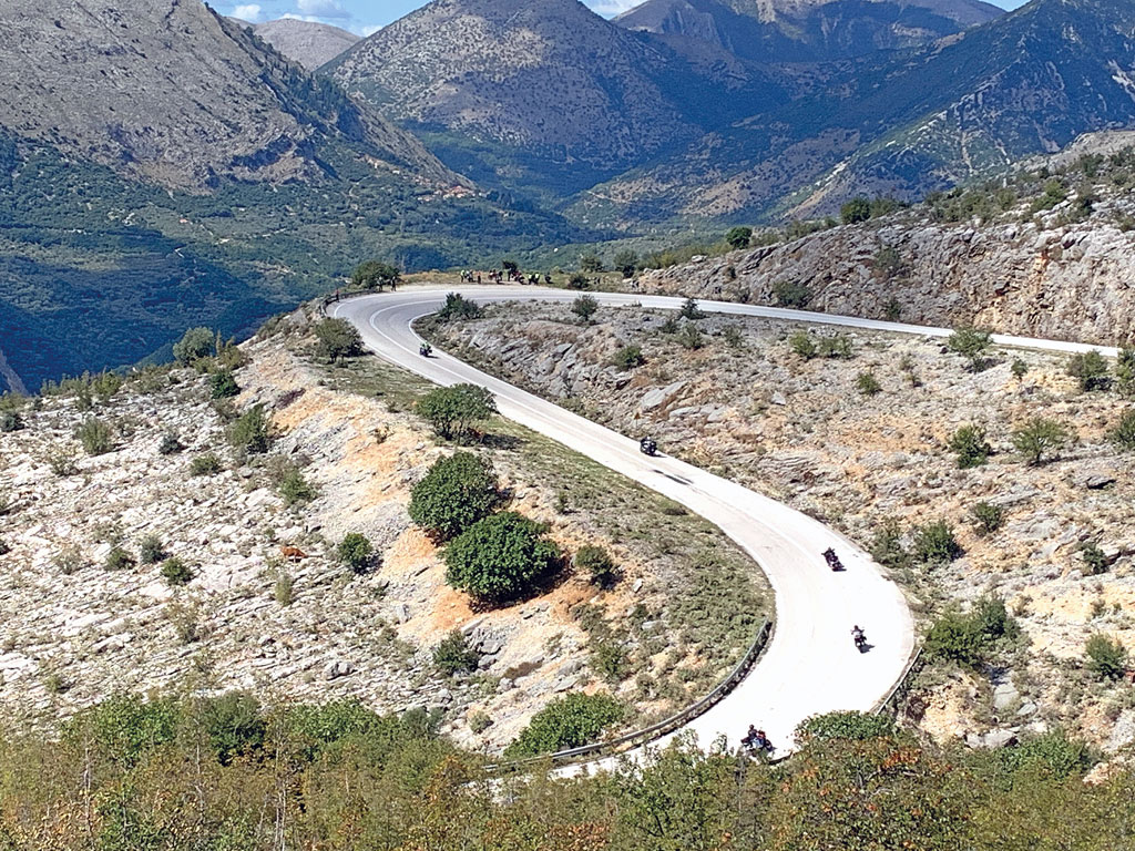 Traumstraßen in Griechenland