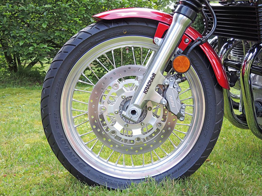 Honda CB 1100 EX - Nissin Doppelscheibenbremse