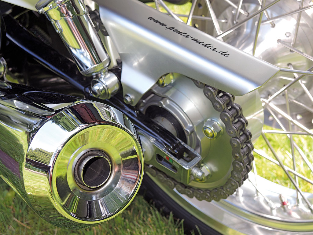 Honda CB 1100 EX - Einfache Kettenspanner