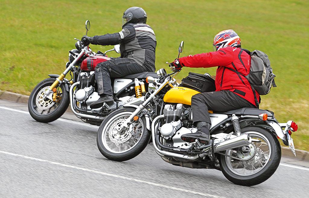 Honda CB 1100 RS und EX (Modelle vor 2019)