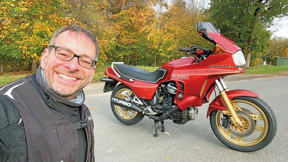 Der Autor hatte viel Spaß mit der Honda CX 500 Turbo, Bj. 1982