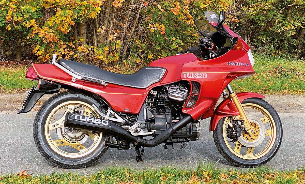 Honda CX 500 Turbo, Bj. 1982