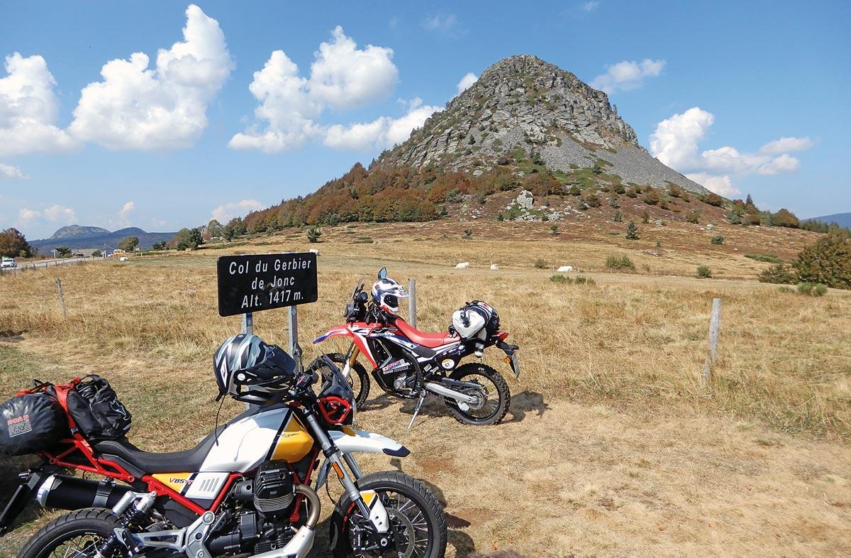 Der Mont Gerbier, eine der höchsten Erhebungen im südöstlichen Zentralmassiv. An seinen Hängen entspringt die Loire.