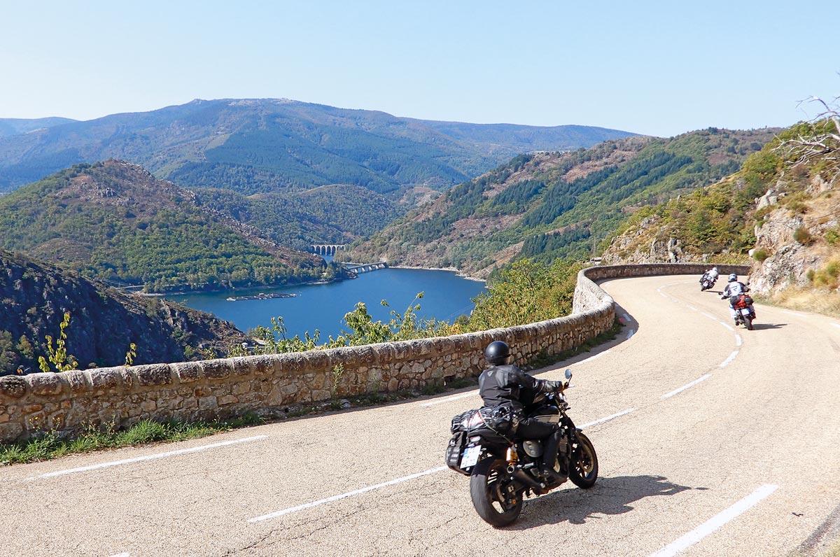 Motorradtour Ardeche und Lozere
