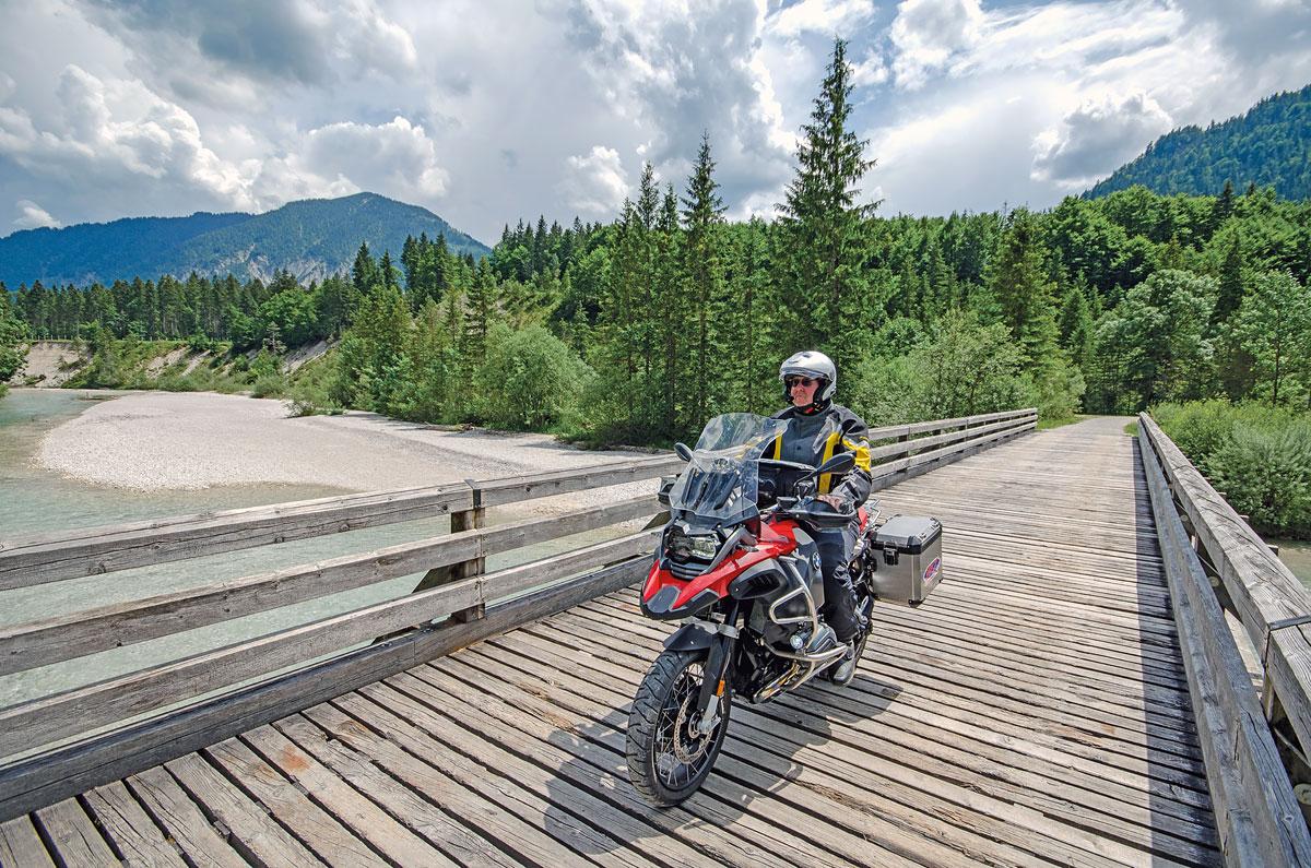 Motorradtour Deutscher Alpenrand -